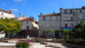 Старый городок Angouleme, юго-западной Франции Стоковые Фотографии RF