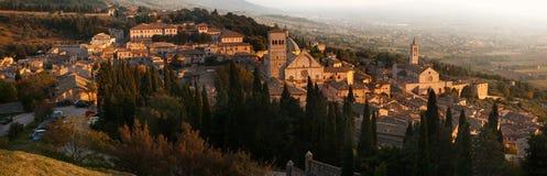 Старый городок Assisi стоковые изображения