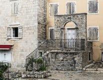 Старый городок Budva, Черногория Стоковое Изображение RF