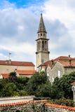 Старый городок Budva Стоковое фото RF