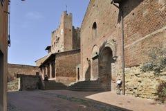 Старый городок Certaldo Стоковое Фото