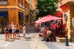 Старый городок en Провансали AIX, Франции Стоковая Фотография