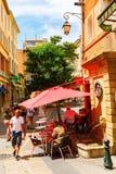 Старый городок en Провансали AIX, Франции Стоковое фото RF