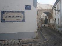 Старый городок Faro Стоковые Изображения