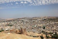 Старый городок Fes, Марокко Стоковая Фотография