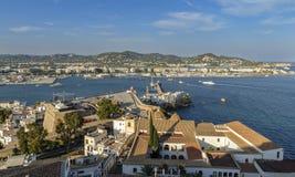 Старый городок, Ibiza, Испания Стоковые Изображения