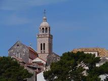 Старый городок Korcula в Хорватии Стоковые Изображения