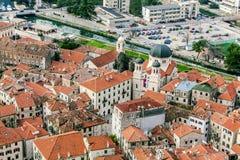 Старый городок Kotor, Черногория. Kotorska Boka. Стоковое Фото