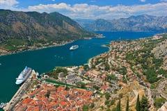 Старый городок Kotor Стоковое Изображение