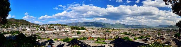 Старый городок Lijiang Стоковые Изображения RF