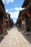 Старый городок Lijiang Стоковое Изображение RF