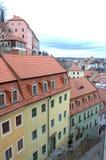 Старый городок Meissen Германия Стоковое Изображение