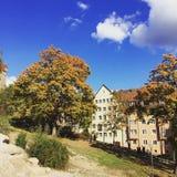 Старый городок Nurnberg Стоковое Фото