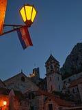 Старый городок Omis Стоковые Изображения RF