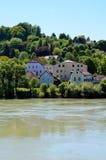 Старый городок passau Стоковое фото RF