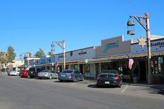 Старый городок Scottsdale, Аризона Стоковое Фото