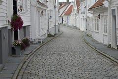 старый городок stavanger Стоковая Фотография RF