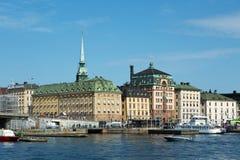 старый городок stockholm Стоковое фото RF