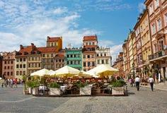 старый городок warsaw Польши Стоковые Фотографии RF
