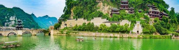 старый городок zhenyuan Стоковые Изображения