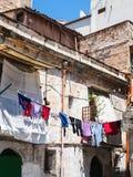 Старый городской дом в городе Палермо Стоковое Фото