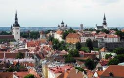 Старый город Таллин в Эстонии Стоковое фото RF