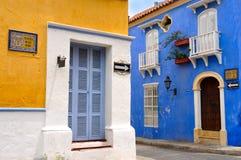 Старый город Cartagena, Колумбии Стоковые Изображения RF