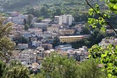 Старый город, Lamezia Terme, южная Италия Стоковое Изображение RF