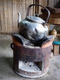 Старый горячий бак - старый бак воды Стоковое Фото