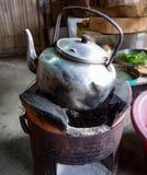 Старый горячий бак - старый бак воды Стоковая Фотография RF