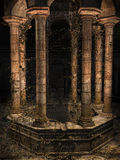 Старый готический колодец Стоковое Изображение