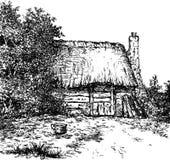 Старый голландский амбар Стоковые Изображения RF