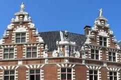 Старый голландский здание муниципалитет в Hoorn Стоковая Фотография RF