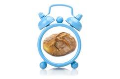 Старый голубой будильник Стоковые Изображения
