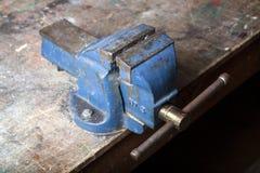 Старый голубой недостаток стенда Стоковые Изображения RF