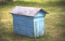 Старый голубой улей Стоковые Фото