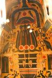 Старый гроб ферзя в музее бальзамировать на Луксоре, Египте Стоковое Изображение RF