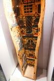 Старый гроб ферзя в музее бальзамировать на Луксоре, Египте Стоковые Изображения