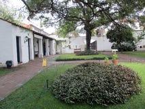 Старый двор исторического дома независимости Tucumán в Аргентине стоковая фотография