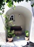 Старый двор Стоковые Фото