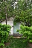 Старый деревенский сарай сада Стоковое фото RF
