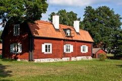 Старый деревянный дом. Стоковое Изображение RF