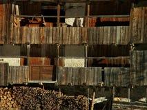 Старый деревянный дом Стоковая Фотография