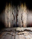 Старый деревянный пол стоковые изображения