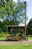 Старый деррик-кран нефтяной скважины на музее нефтяной скважины ` s Drake стоковые изображения