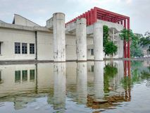 Старый дизайн промышленного здания Стоковая Фотография RF