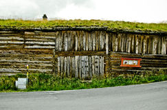 Старый дом в Røros Стоковая Фотография
