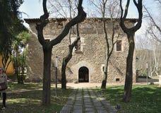 Старый дом пастора Sant Celoni-Каталонии Стоковое фото RF