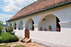 Старый дом села Стоковая Фотография