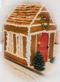 Старый дом хлеба имбиря моды Стоковое фото RF